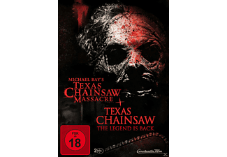 Michael Bay's Texas Chainsaw Massacre & Texas Chainsaw The Legend ist Back DVD