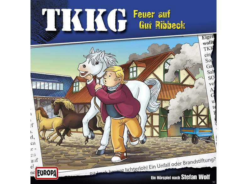 Tkkg - 192 - TKKG - Feuer auf Gut Ribbeck! - (CD)