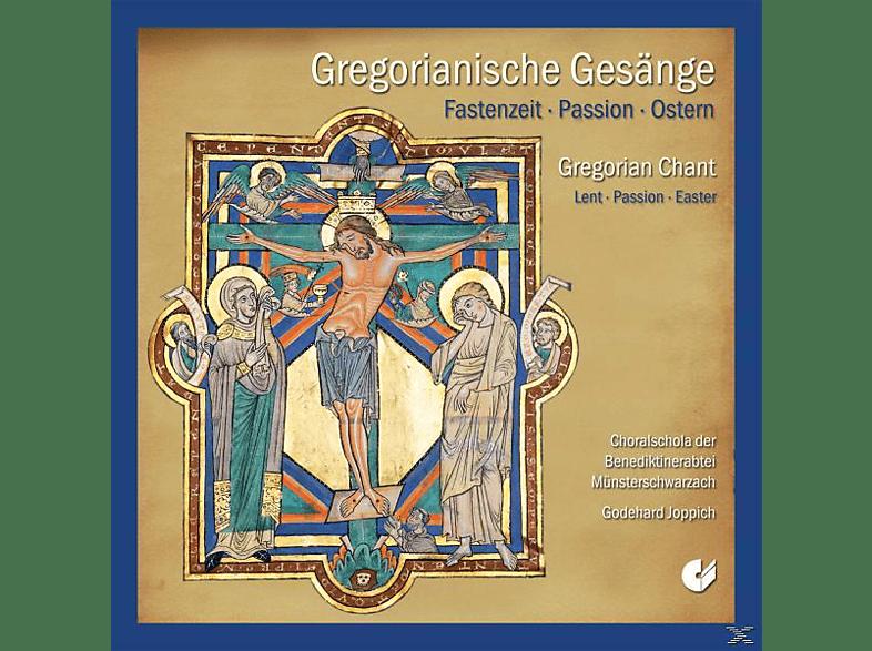 Choralschola Münsterschwarzach / Godehard Joppich - Gregorianische Gesänge-Fastenzeit, Passion, Ostern [CD]