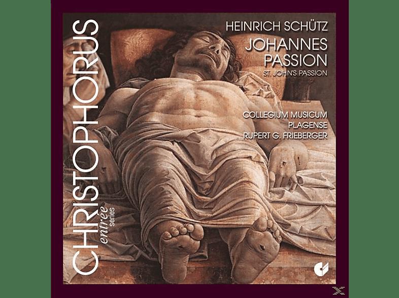 Collegium Musicum Plagense - Johannes-Passion Swv 481 [CD]