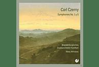 ATHINÄOS & BRANDENB.STAATSORCHESTER FRANK - Sinfonien Nr. 1 C - Moll & Nr. 5 Es - Dur [CD]