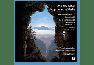 Chor Der St.Hedwigs-Kathedrale Berlin, Brandenburgisches Staatsorchester Frankfurt - Rheinberger: Symphonische Werke (Wallenstein Op. 10 / Akadem  - (CD)