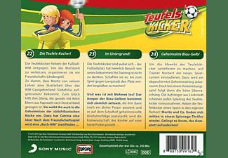 Teufelskicker - Teufelskicker Folge 8: 3er Box (22-24)  - (CD)