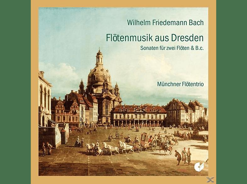 Münchner Flötentrio - Flötenmusik Aus Dresden [CD]