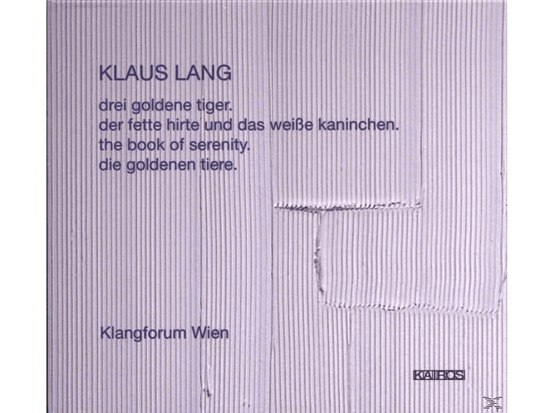 Kalitzke Klangforum Wien - The Book Of Serenity [CD]