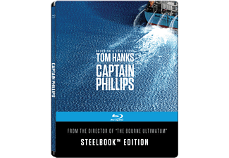 Captain Phillips Steelbook Edition [Blu-ray]