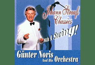 Günter & His Orchestra Noris - Johann Strauss Classics With A Swing!  - (CD)