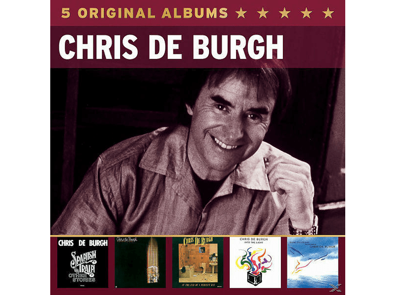 Chris de Burgh - 5 Original Albums [CD]