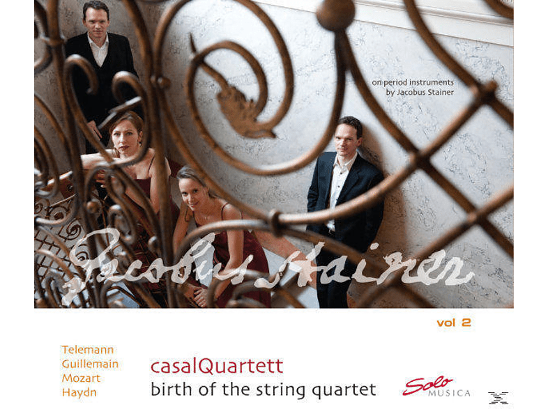 Casalquartett - Birth Of The String Quartet Vol.2 [CD]