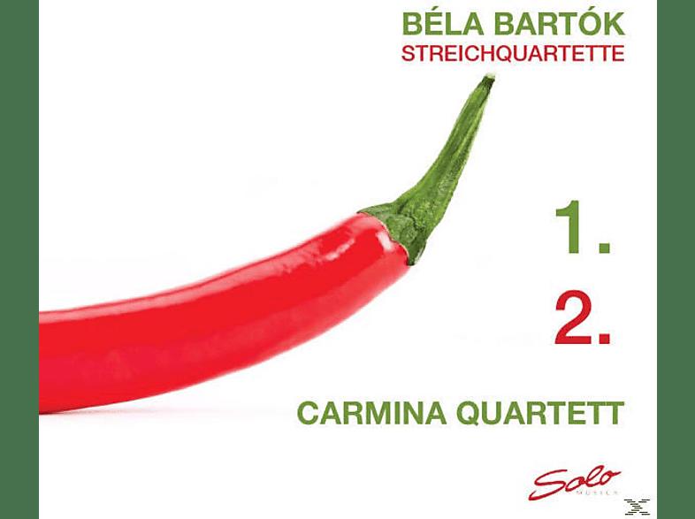 Carmina Quartet - Streichquartette Nr. 1+2 [CD]