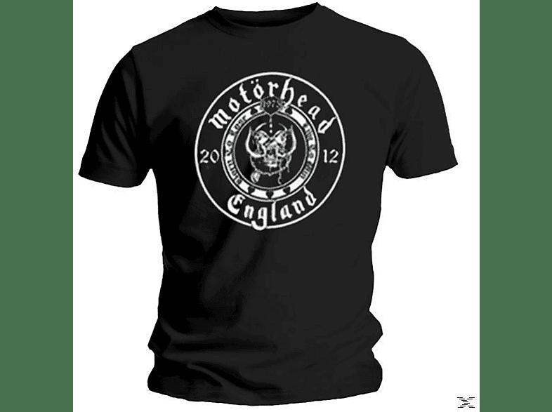 1975 Round Logo (T-Shirt, Schwarz, Größe S)