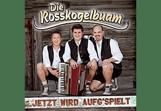 Die Rosskogelbuam - Jetzt Wird Aufg'spielt  - (CD)