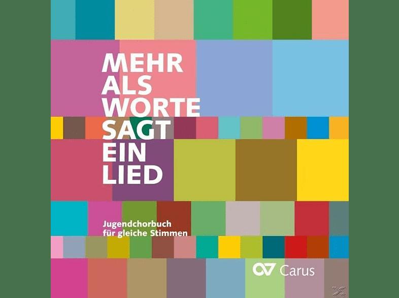 Stuttgart Mädchenkantorei An Der Domkirche St. Eberhard, Johannes Mayr, Peter Schleicher, Simone Herter - Mehr als Worte sagt ein Lied-Jugendchorbuch für gleiche Stimmen [CD]