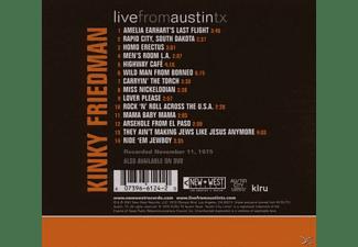 Kinky Friedman - Live From Austin Tx  - (CD)