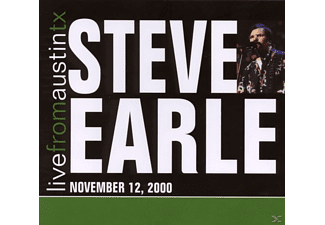 Steve Earle - Live From Austin Tx'00  - (CD)