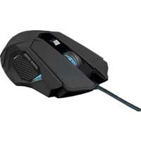 TRUST GXT 158 Gaming Maus, Schwarz