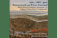 Consortium Musicum Passau, Eberhardt/Consortium Musicum Passau - Kammermusik am Wiener kaiserhof [CD]