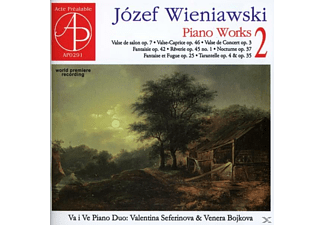 Valentina Seferinova & Venera Bojko - Klavierwerke  - (CD)