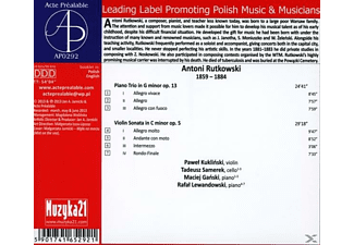 Kuklinski/Samerek/Ganski/Lewandowski - Klaviertrio und Violinsonate  - (CD)