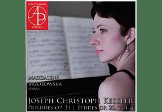 Brzozowska Magdalena - Klavierwerke  - (CD)