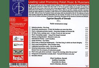 Subtilior Choir Cantilena Sieradz - Polnische Renaissancelieder  - (CD)