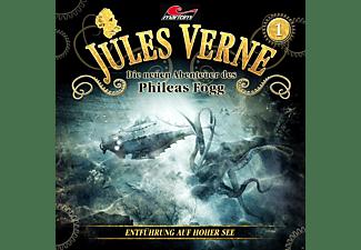 Jules Verne-Die Neuen Abenteuer Des Phileas Fogg - Jules Verne - Die neuen Abenteuer des Phileas Fogg Folge 01: Entführung auf hoher See  - (CD)