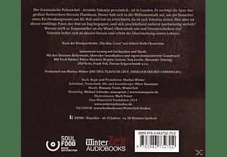 Pater Brown - Die rätselhaften Fälle des Pater Brown 01: Das blaue Kreuz  - (CD)
