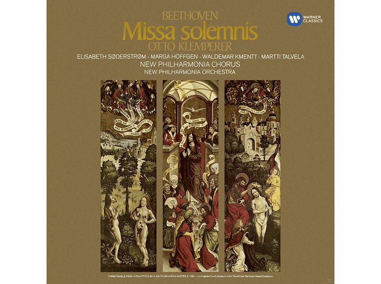 New Philharmonica Orchestra, Elisabeth Söderström, Marga Höffgen, New Philharmonia Chorus, Martti Talvela, Waldemar Kmentt - Missa Solemnis [CD]