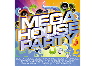 VARIOUS - Mega House Party  - (CD)