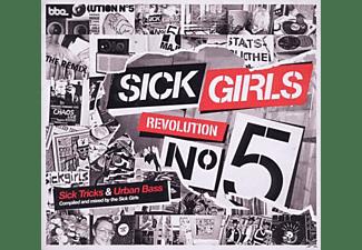VARIOUS - SICK GIRLS - REVOLUTION NO 5  - (CD)