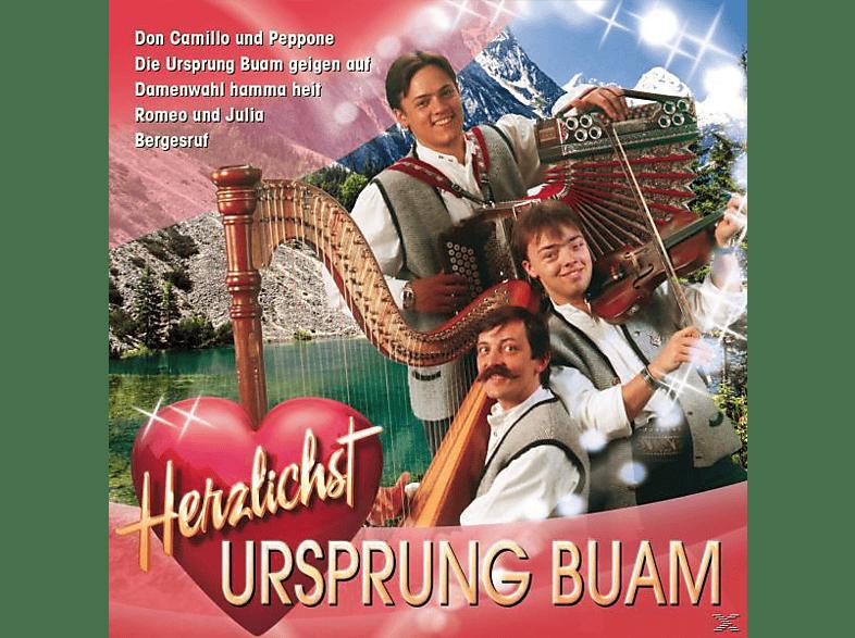 Ursprung Buam - Herzlichst [CD]