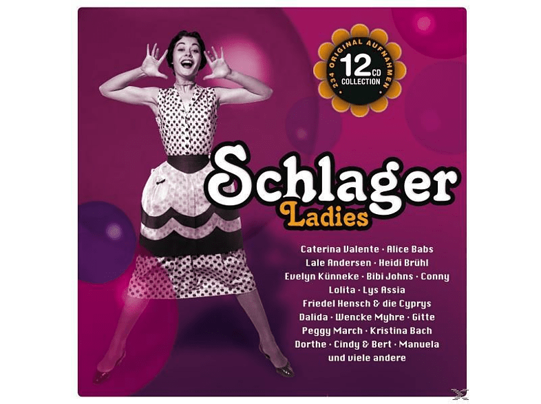 March/Herr/Myrhe/Cindy &Bert/Dalida/Dorthe/Gitte/+ - Schlager Ladies [CD]
