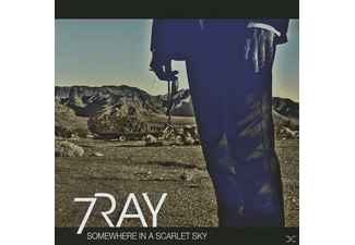 7 Ray - Somewhere In A Scarlet Sky - (CD)