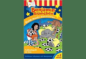 Benjamin Blümchen - Benjamin Blümchen: Gute-Nacht-Geschichten/Fussballspass im Zoo  - (MC (analog))
