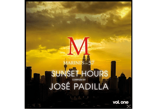 José Padilla - Sunset Hours - Marini's on 57 - Vol. One - (CD)