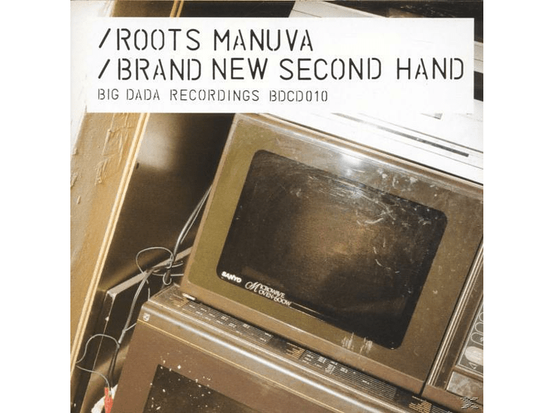 Roots Manuva - Brand New Second Hand [CD]