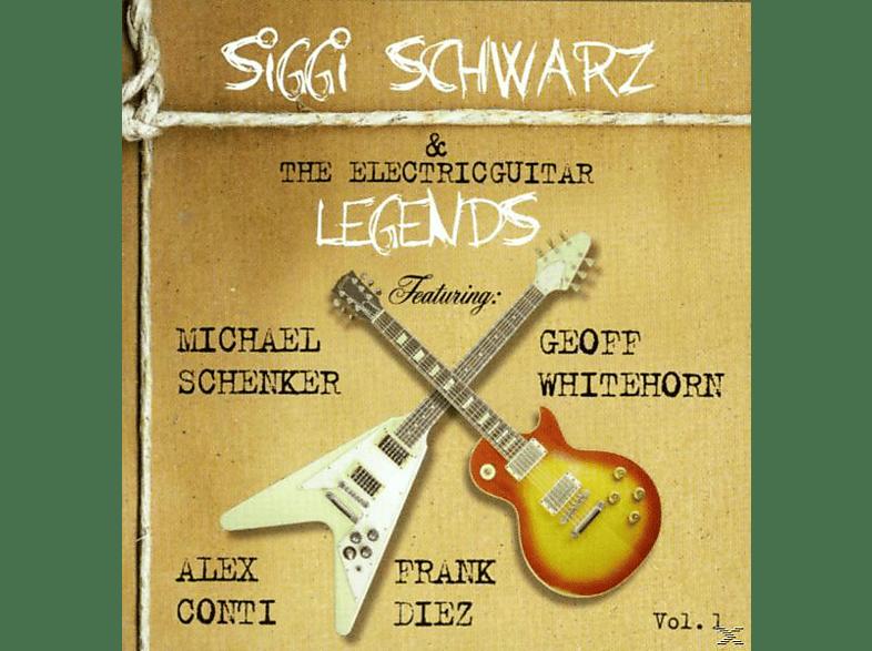 Schwarz,Siggi/Schenker,Michael/Conti,Alex/+ - Siggi Schwarz & The Electricguitar Legends [CD]