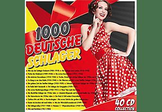 Various - 1000 Deutsche Schlager  - (CD)