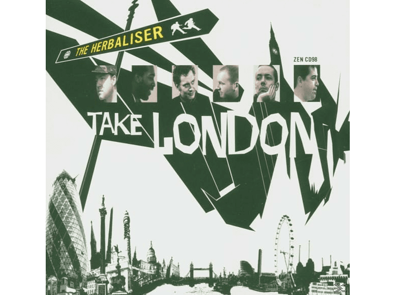 The Herbaliser - Take London [CD]