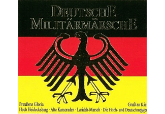 VARIOUS - DEUTSCHE MILITARMARSCHE  - (CD)