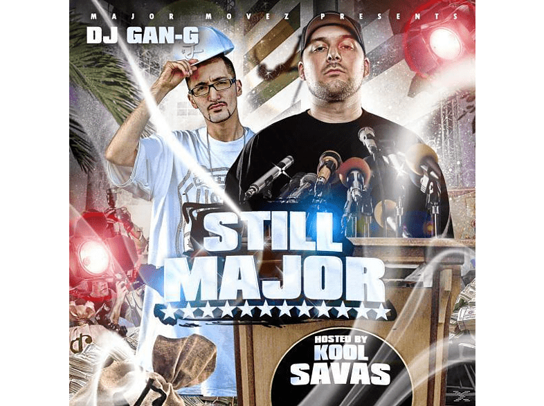Dj G - Still Major,hosted by Kool Savas [CD]