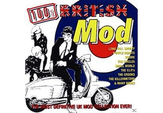 VARIOUS - 100% British Mod - (CD)