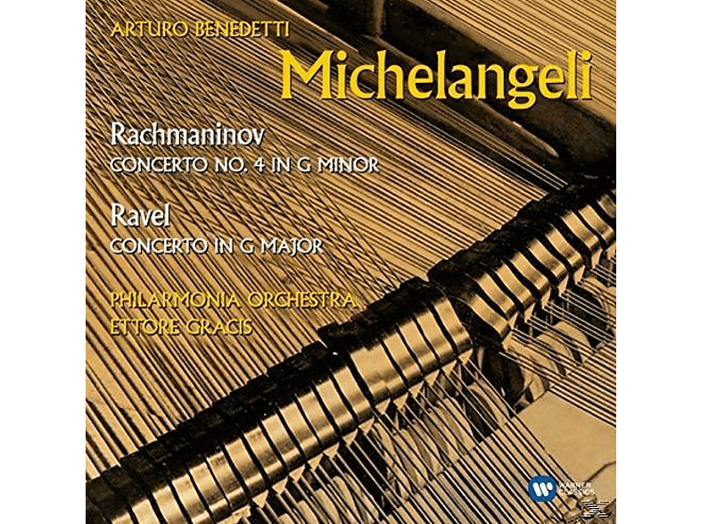 Arturo Benedetti Michelangeli, Philharmonica Orchestra, Ettore Gracis - Ravel / Rachmaninoff (Klavierkonzerte) [CD]