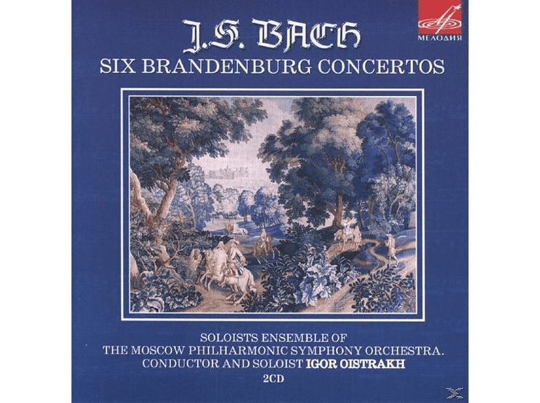 The Solists Ensemble Of The Moscow Philharmonic Symphony Orechestra - Brandenburgische Konzerte [CD]
