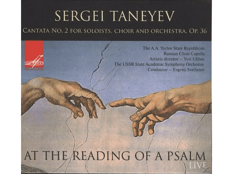 E./The USSR State Academic Symphony Orc Svetlanov - Kantate 2 für Soli,Chor und Orchester [CD]