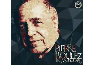 THE MOSCOW CONSERVATORY/SYMPHONY OR - Pierre Boulez in Moscow - (CD)