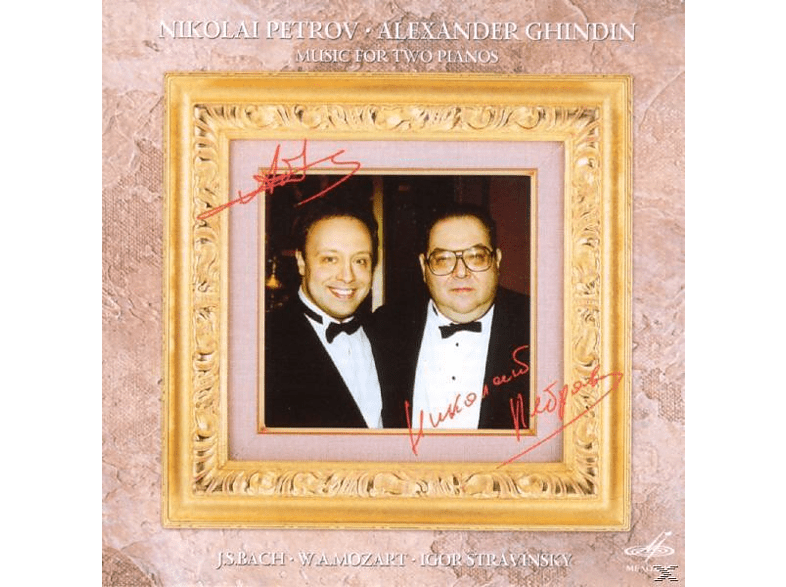 Nikolai Petrov - MUSIC FOR 2 PIANOS [CD]