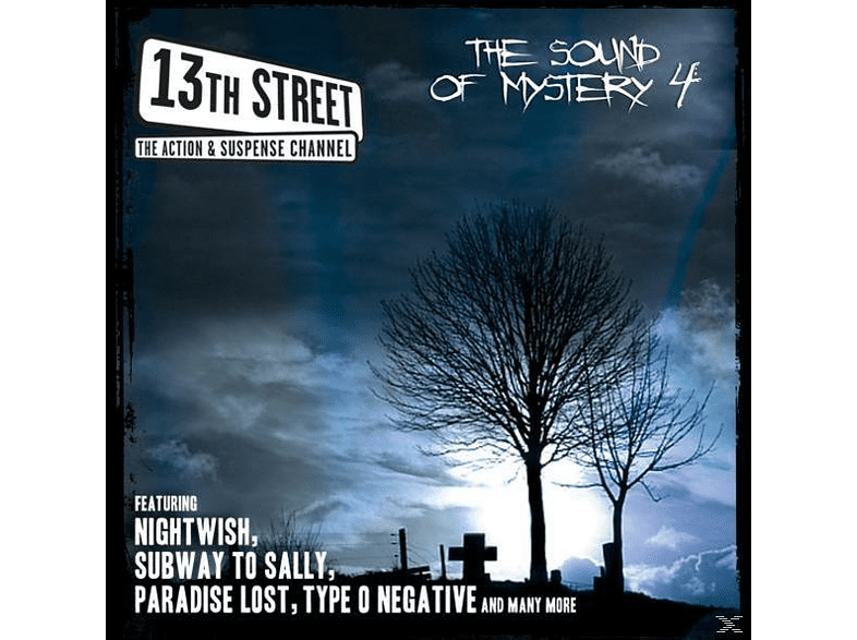 VARIOUS - 13TH STREET-THE SOUND OF MYSTERY 4 [CD]