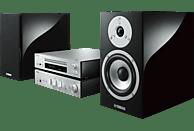 YAMAHA MCR-N870D  Kompaktanlage (Schwarz/Silber)