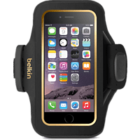 BELKIN Slim-Fit Plus , Armtasche, Apple, iPhone 6, iPhone 6s, Neopren, Schwarz
